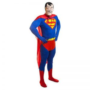 2Nd Skin Superman Costume Dc Comics Costume Film Themed Party L Chest Up To 42 by Rubies de la marque Rubies 2nd Skin image 0 produit