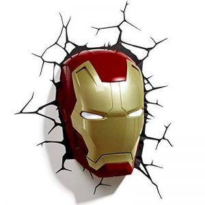 3D Light Applique Murale à LED en Forme de Casque Iron Man FX Marvel de la marque 3D Light FX image 0 produit