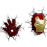 3D Light Applique Murale à LED en Forme de Casque Iron Man FX Marvel de la marque 3D Light FX image 4 produit