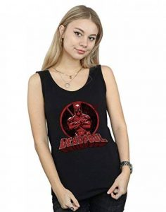 Absolute Cult Marvel Femme Deadpool Crossed Arms Logo Tank Top de la marque Absolute Cult image 0 produit