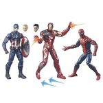 Captain America Civil War Marvel Legends: Marvel Legends 3-Pack Version Anglaise [B8215] de la marque Marvel image 1 produit
