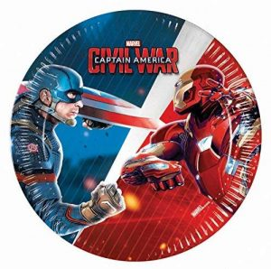 Captain America Guerre civile invitations de la marque Unique Party image 0 produit