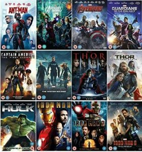 collection marvel TOP 6 image 0 produit