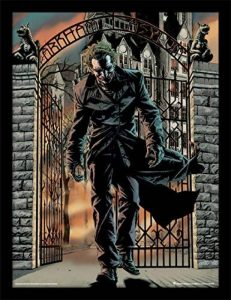 DC Comics Batman (The Joker Released) 30 x 40 cm Objet Souvenir de la marque DC Comics image 0 produit