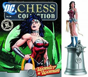 Dc Comics - Figurine De Jeu D'Échecs De Resine Dc Comics Chess Collection Nº 34 Wonder Woman de la marque DC Comics image 0 produit