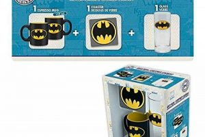 DC COMICS - Gift Box Batman (Glass+ Coaster+ Mini-Mug) : P.Derive de la marque ABYstyle image 0 produit
