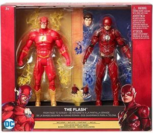 DC 'Figurine Set Comics Justice League multiverse The Flash & Rebirth The Flash 6 Action Figure de la marque DC image 0 produit