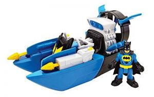 DC Fisher Price – Imaginext Super Friends – Bat Boat – Véhicule + Mini Figurine de la marque Mattel image 0 produit