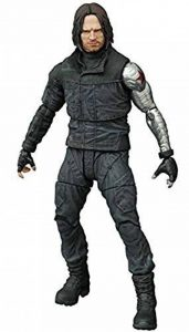 Diamond Select Figurine Marvel Select de Captain America :Guerre Civile :Figurine articulée du Soldat d'hiver. de la marque Diamond Select image 0 produit