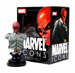 Diamond Select Toys - Figurine de sciences fiction - Red Skull - Buste Marvel Icons de la marque Diamond Select image 0 produit