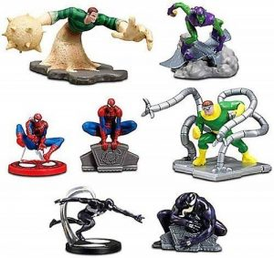 Disney Exclusive Marvel 7Pack SpiderMan Figurine Playset by Disney de la marque Disney image 0 produit