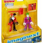 Fisher-Price – Imaginext – DC Super Friends – Joker & Harley Quinn – 2 Figurines de la marque Fisher-Price image 4 produit