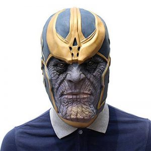 FLY Thanos Masque - Réaliste Latex Halloween Props Movie Head Masque - Marvel Avengers Guerre Infinity - Party Costume Creepy Party de la marque FLY image 0 produit