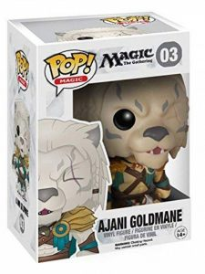 Funko - Bobugt042 - Figurine Cinéma - Magic The Gathering - Pop Bobble Head 03 Ajani Goldmane! de la marque Funko Pop! Magic image 0 produit