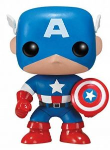FunKo - POP Marvel - Captain America de la marque Funko Pop! Marvel: image 0 produit
