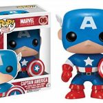 FunKo - POP Marvel - Captain America de la marque Funko Pop! Marvel: image 1 produit
