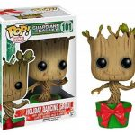 FunKo POP Marvel - GOTG - Holiday Dancing Groot de la marque Funko Pop! Marvel: image 1 produit