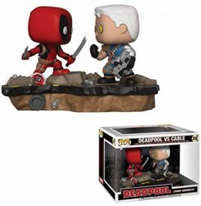 FUNKOPOP! Marvel: Comic Moments - Deadpool Vs. Cable de la marque FunKo image 0 produit