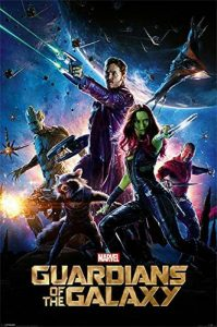 Guardians Of The Galaxy Marvel Poster grand format 61 x 91,5 cm de la marque Guardians-Of-The-Galaxy image 0 produit