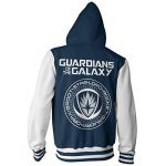 Guardians Of The Galaxy Officiellement sous Licence Varsity Zippé Sweat à capucheie de la marque Guardians Of The Galaxy image 1 produit