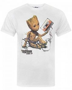 Guardians of the Galaxy Vol 2 Groot Tape Men's T-Shirt de la marque Guardians Of The Galaxy image 0 produit