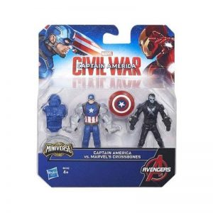 "Guerre Civile Marvel Captain America ""Team VS Team"" Assortiment de Figure (Lot de 2) de la marque Captain America,Marvel image 0 produit"