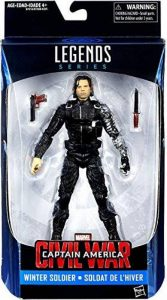 Hasbro – Marvel Legends – Captain America : Civil War – Winter Soldier – Figurine Articulée 15 cm de la marque Marvel image 0 produit