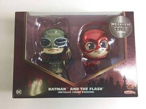 Hot Toys Htcosb398 Batman et Flash métallique Version Cosbaby Lot de la marque Hot Toys image 0 produit