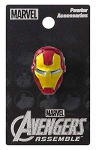 Iron Man Head Colored Pewter Lapel Pin de la marque Iron Man image 0 produit