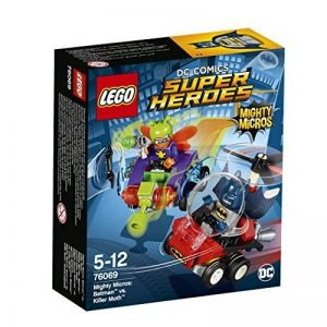 LEGO - 76069 - DC Comics Super Heroes - Jeu de Construction - Mighty Micros : Batman contre Killer Moth de la marque Lego image 0 produit
