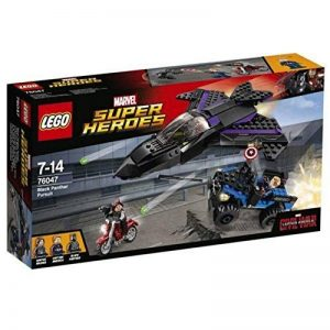 Lego Marvel Super Heroes - 76047 - Jeu De Construction - Black Panther Pursuit de la marque Lego image 0 produit