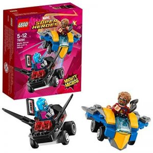 LEGO Marvel Super Heroes - Mighty Micros : Star-Lord contre Nebula - 76090 - Jeu de Construction de la marque Lego image 0 produit