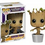 Les Gardiens De La Galaxie Figurine en Vinyle - Dancing Groot Bobble-Head 65 Figurine de Collection de la marque Funko Pop Marvel image 1 produit