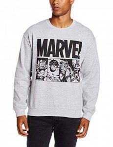 Marvel Action Title, Sweat-Shirt Homme de la marque Marvel image 0 produit