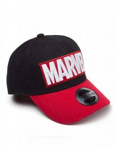 Marvel Cap Red Brick Logo Curved Bill Cap Black de la marque Marvel image 0 produit