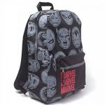 MARVEL COMICS Comics Characters All-Over Print Backpack, Multi-Colour (BP412143MVL) Sac à Dos Loisir, 28 cm, 20 liters, Multicolore (Multicolour) de la marque Marvel Comics image 1 produit