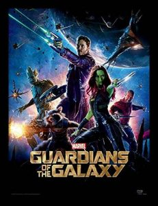 Marvel Comics Guardians of The Galaxy (One Sheet) 30 x 40 cm Objet Souvenir de la marque Marvel Comics image 0 produit