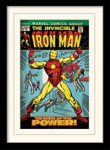 Marvel Comics Iron Man (Birth of Power) 30 x 40 cm Objet Souvenir de la marque Marvel Comics image 0 produit