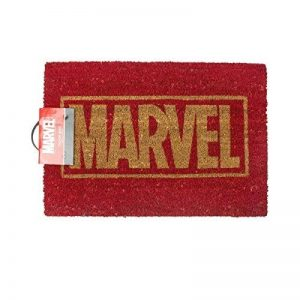Marvel doormat - logo door mat. Comic book merchandise with FREE KEYRING by Pop Art Products de la marque Pop-Art-Products image 0 produit