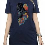 Marvel Femme Black Panther Profile Petit Ami Fit T-Shirt de la marque Absolute Cult image 3 produit