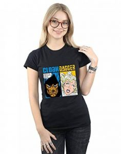 Marvel Femme Cloak and Dagger Comic Panels T-Shirt de la marque Absolute Cult image 0 produit