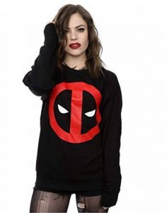 Marvel Femme Deadpool Clean Logo Sweat-Shirt de la marque Marvel image 0 produit