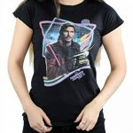 Marvel Femme Guardians of the Galaxy Neon Star Lord T-Shirt Medium Noir de la marque Marvel image 3 produit
