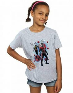 Marvel Fille Ant-Man and The Wasp Particle Pose T-Shirt de la marque Absolute Cult image 0 produit