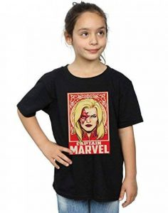 Marvel Fille Captain Marvel Ornament T-Shirt de la marque Absolute Cult image 0 produit