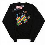 Marvel Fille Kawaii M is for Marvel Sweat-Shirt de la marque Absolute Cult image 1 produit