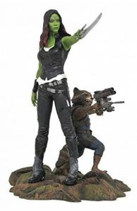Marvel Gallery GOTG Gamora & Rocket Raccoon PVC Figure de la marque Diamond Select image 0 produit