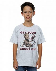 Marvel Garçon Guardians of the Galaxy Get Your Groot On T-Shirt de la marque Marvel image 0 produit