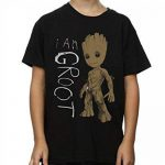 Marvel Garçon Guardians of the Galaxy I Am Groot Scribbles T-Shirt de la marque Marvel image 3 produit