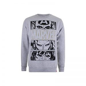Marvel Hero Eyes Dark, Sweat-Shirt Homme de la marque Marvel image 0 produit